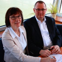 Ludwig Harms und Frauke Harms